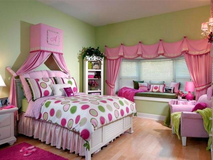 Идеальная комната для девочки-подростка