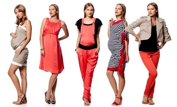 Одежда, украшающая будущих мам