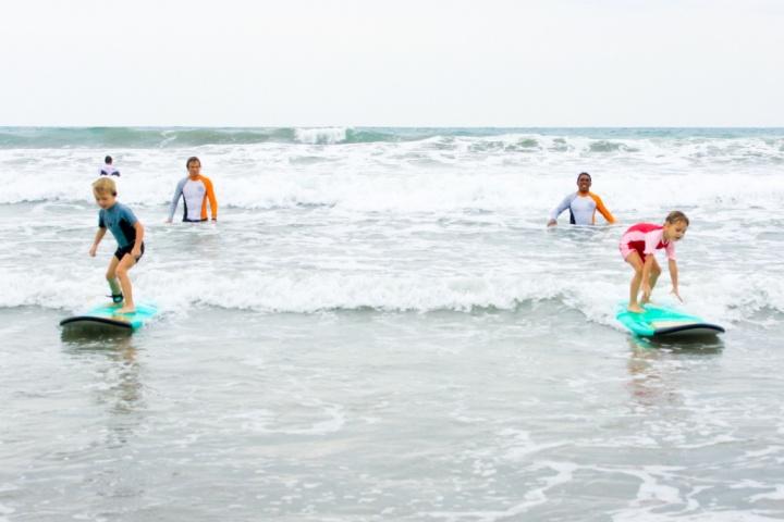 Сёрфинг и развитие ребёнка