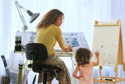 Советы мамам: совмещаем работу и воспитание детей