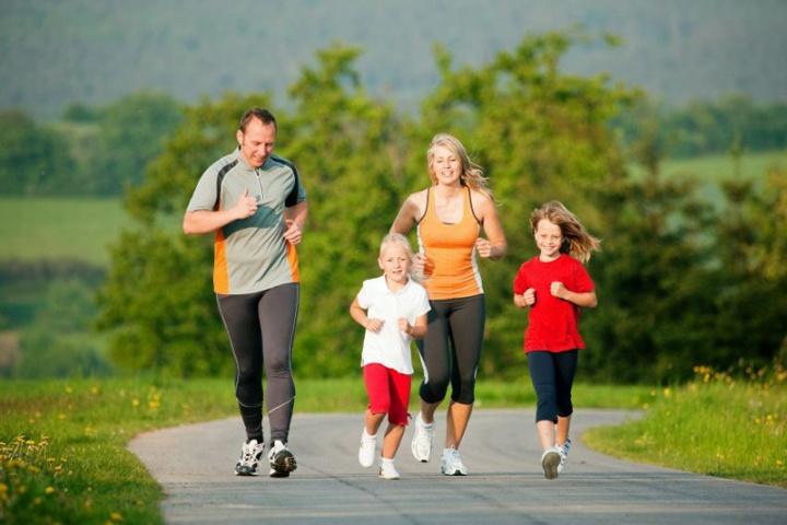 На пробежку за здоровьем!