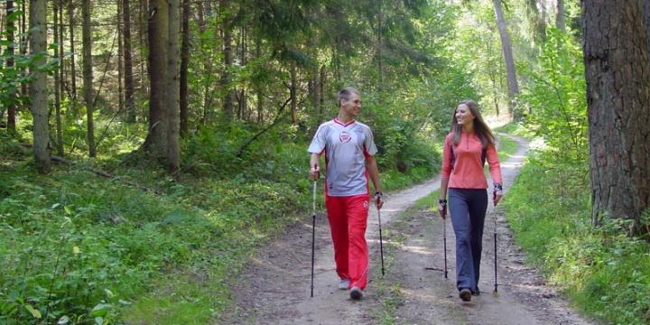 Прогулки пешком вместо лекарств!