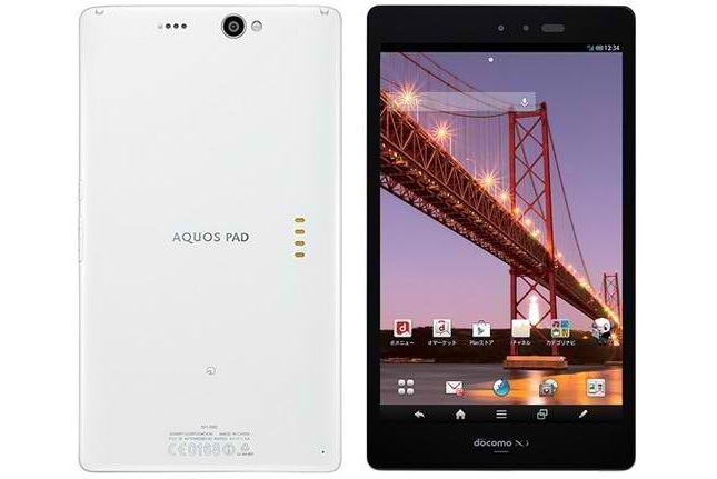 Sharp Aquos Pad SH - 08E - мощный планшет с IGZO - дисплеем