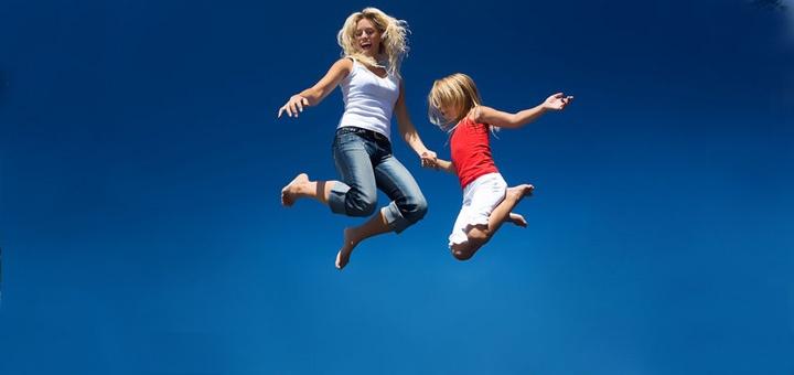 Батуты: прыжки от плохого настроения