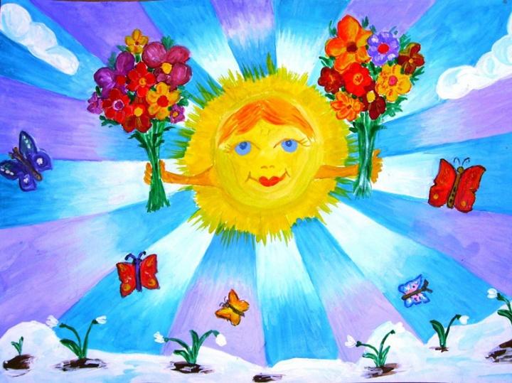 Поделки на летнюю и весеннюю тематику