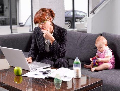 Совмещение декретного отпуска и самореализации современных женщин 2