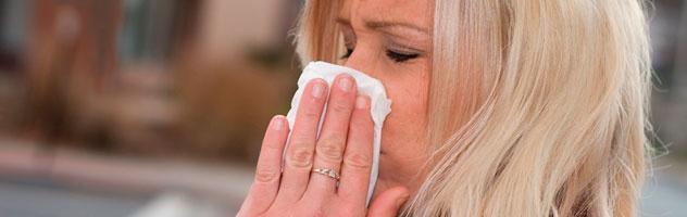 Аллергический насморк: особенности и лечение