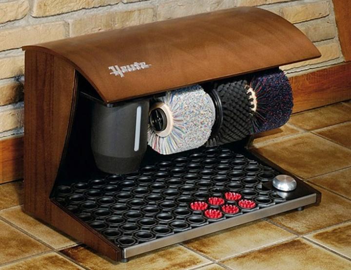 Автоматы для чистки обуви - стильно и современно