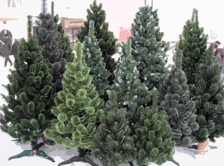 Как ухаживать за искусственной новогодней елкой