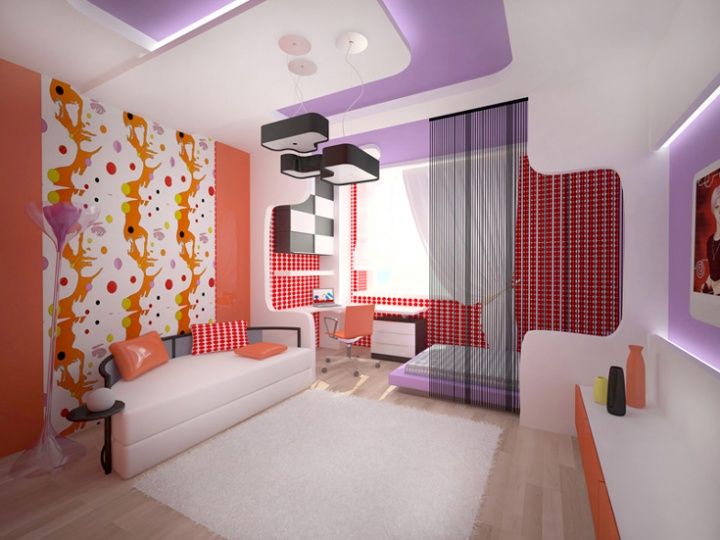 Дизайн интерьера в стиле Хай-тек, Кантри и Авангард 3