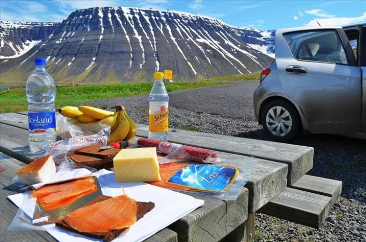 О еде в Исландии