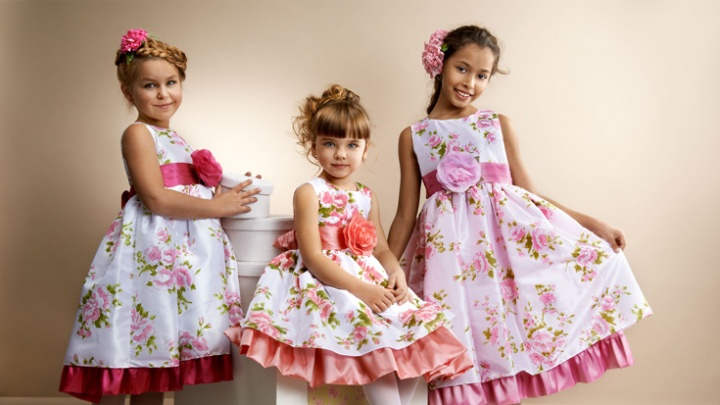 Как купить платья для девочек