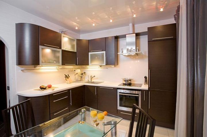 Кухня в коричневых тонах – традиционные цветовые решения в новой интерпретации 3