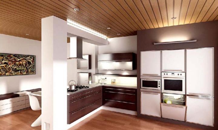 Кухня в коричневых тонах – традиционные цветовые решения в новой интерпретации