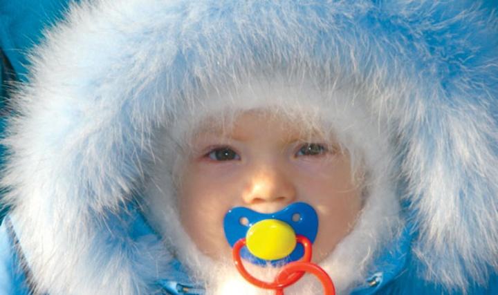 Идем гулять! как одеть малыша зимой? цветы жизни.
