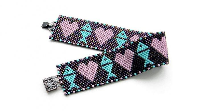 Простые браслеты из бисера своими руками