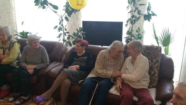 Современный дом для престарелых, с повышенным комфортом. 2