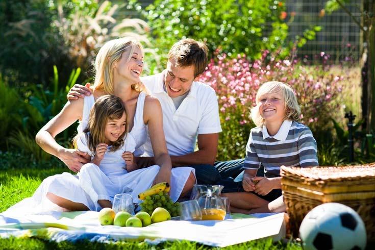 С семьёй  – по жизни всегда и везде
