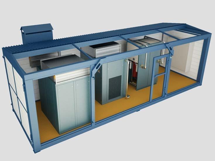 Конструкционные особенности модульной компрессорной станции