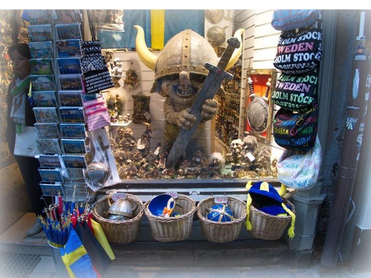сувениры на улице Дроттнинггатан