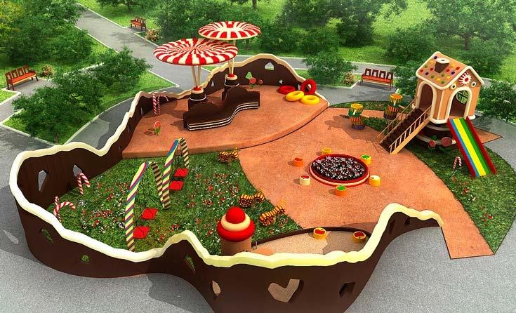 Детская площадка: купить или сделать?