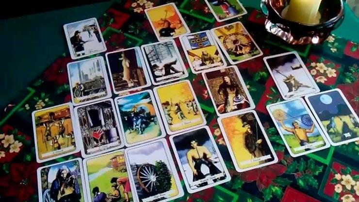 Чакровый расклад на 36 картах и на Таро