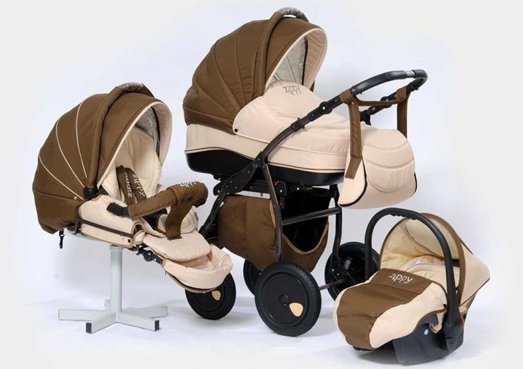 Детские коляски: принципы выбора