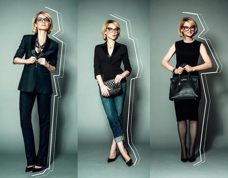 Платье или брюки + пиджак. Советы от Эвелины Хромченко.