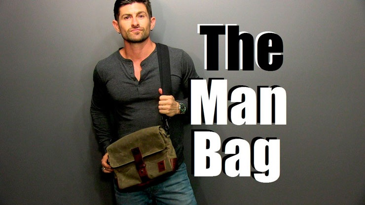 Выбор сумки для мужчины