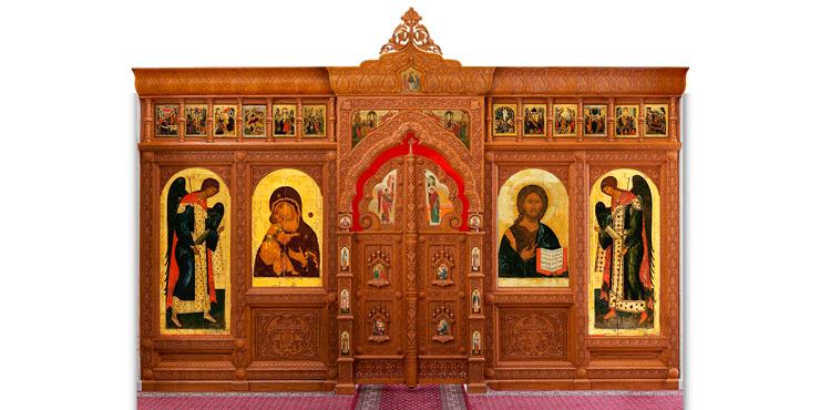 Иконостас как символ разделения Божьего и Земного миров