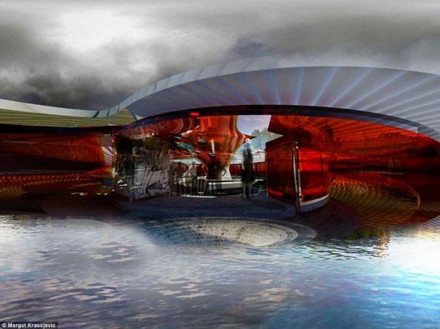 Чудо архитектуры: мост в виде насекомые-трансформера собираются построить в Монголии