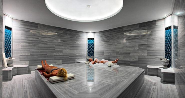 Отдохнуть и оздоровиться можно в бане хаммам!